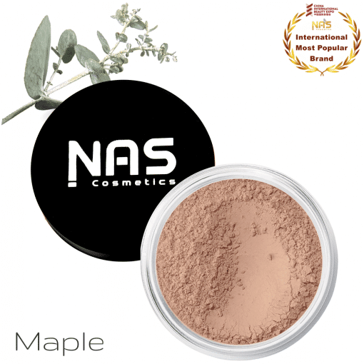 NAS Cosmetics Mineral Foundation MAPLE